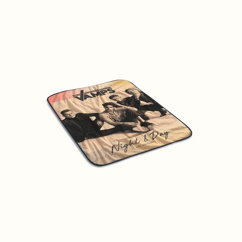 The Vamps Night and Day Fleece Blanket