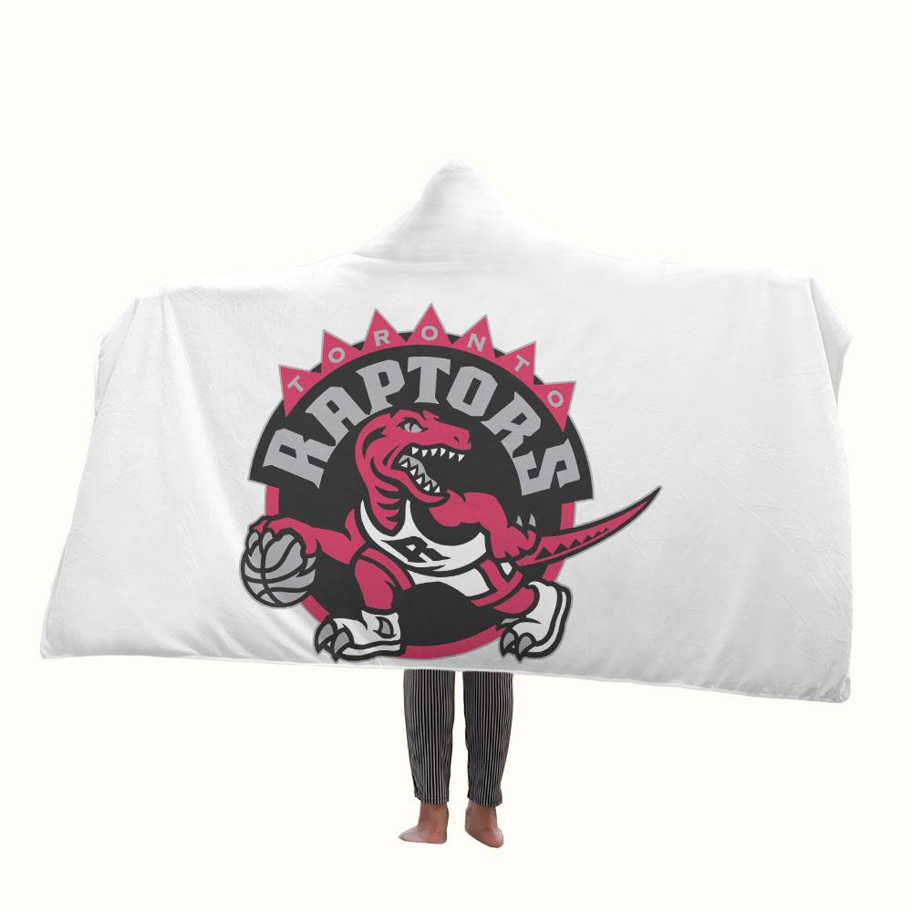 Toronto Raptors Hooded Blanket