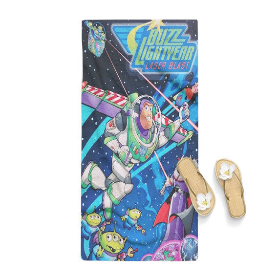 Toy Story Buzz Lightyear Poster Towel