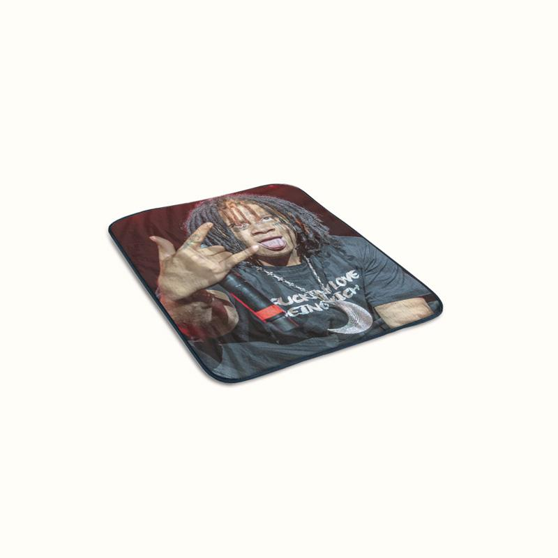 Trippie Redd Fleece Blanket