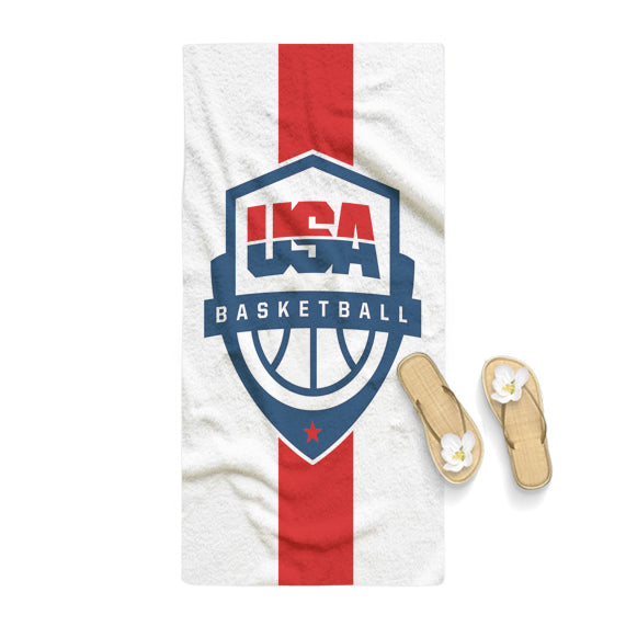 USA Basketball Logo Towel