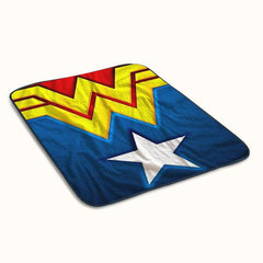 Wonder Woman Logo Fleece Blanket