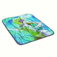 X Men Origins Emma Frost Fleece Blanket