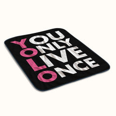 Yolo Logo Fleece Blanket