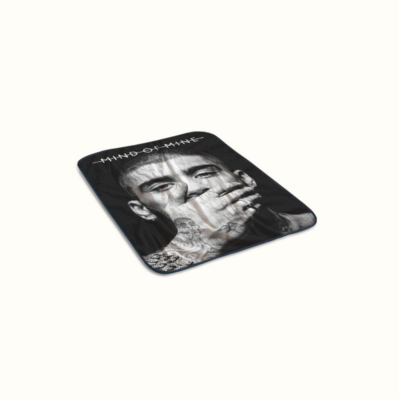 Zayn Malik Mind of Mine Fleece Blanket