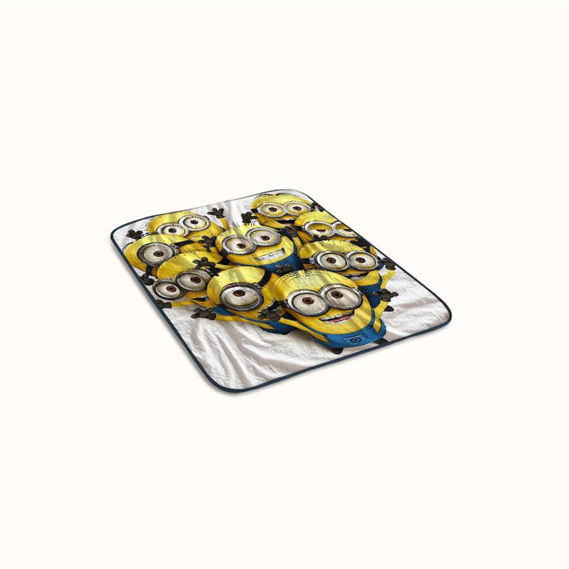 cute Despicable me 2 Fleece Blanket
