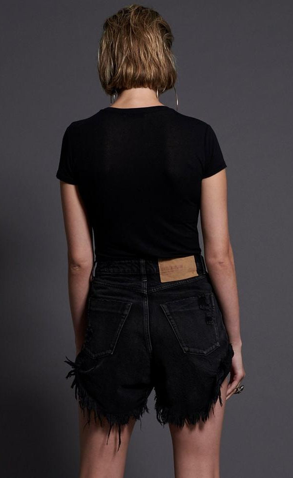 Double Bass High waist bandits denim short