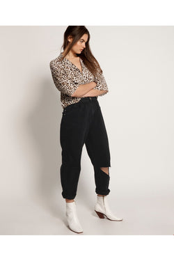 Black Smiths High waist trouser jean