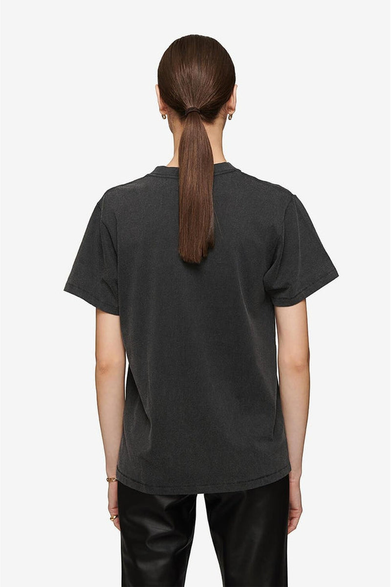 Lili eagle tee, washed black