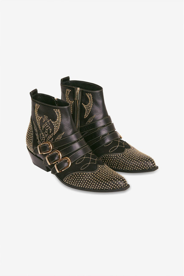 Penny boots, Black