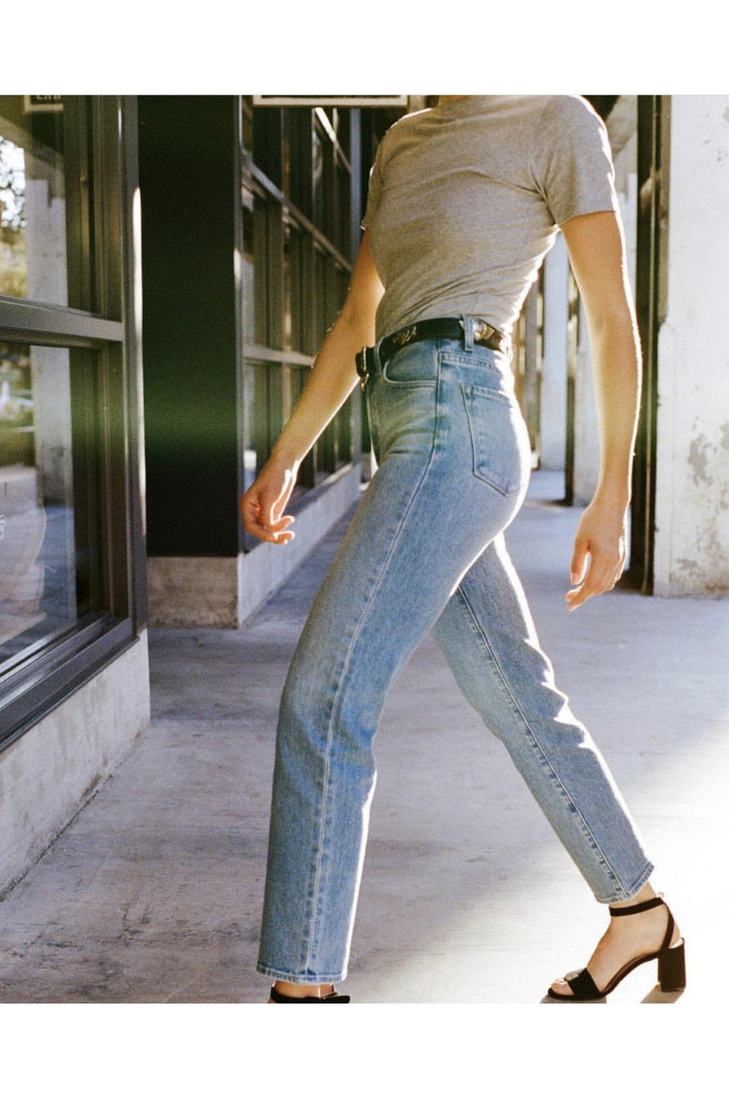 Jules High- Rise Straight Leg, Denim