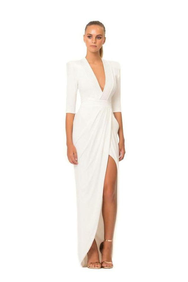 Eye of Horus Gown - Ivory