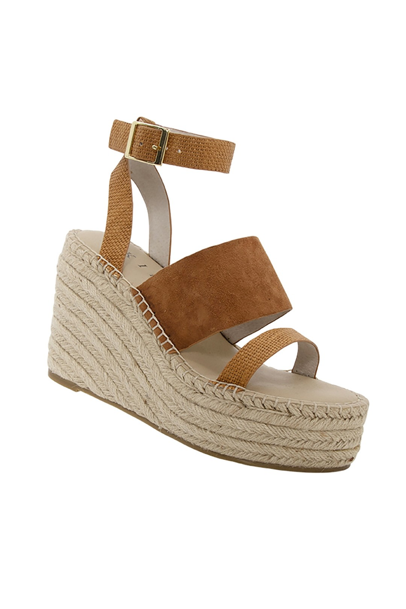 Baldwyn Wedge - Tan