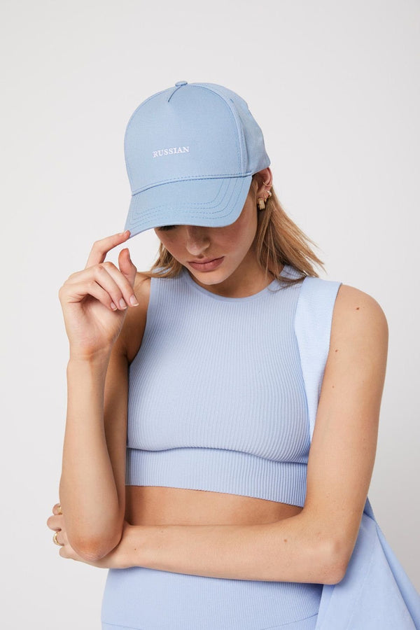 The cap, baby blue