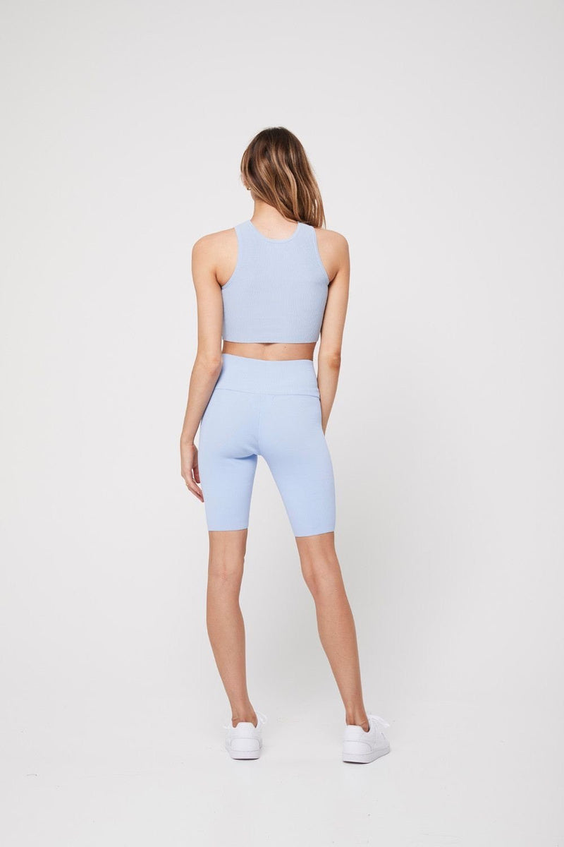 The Bike short, baby blue