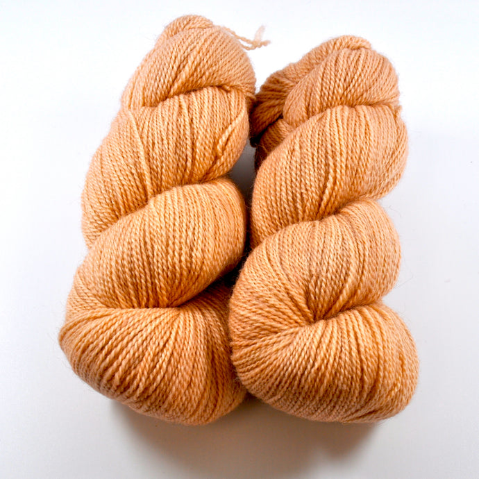 Untreated BFL Hand-Dyed Set of 2 - Fingering
