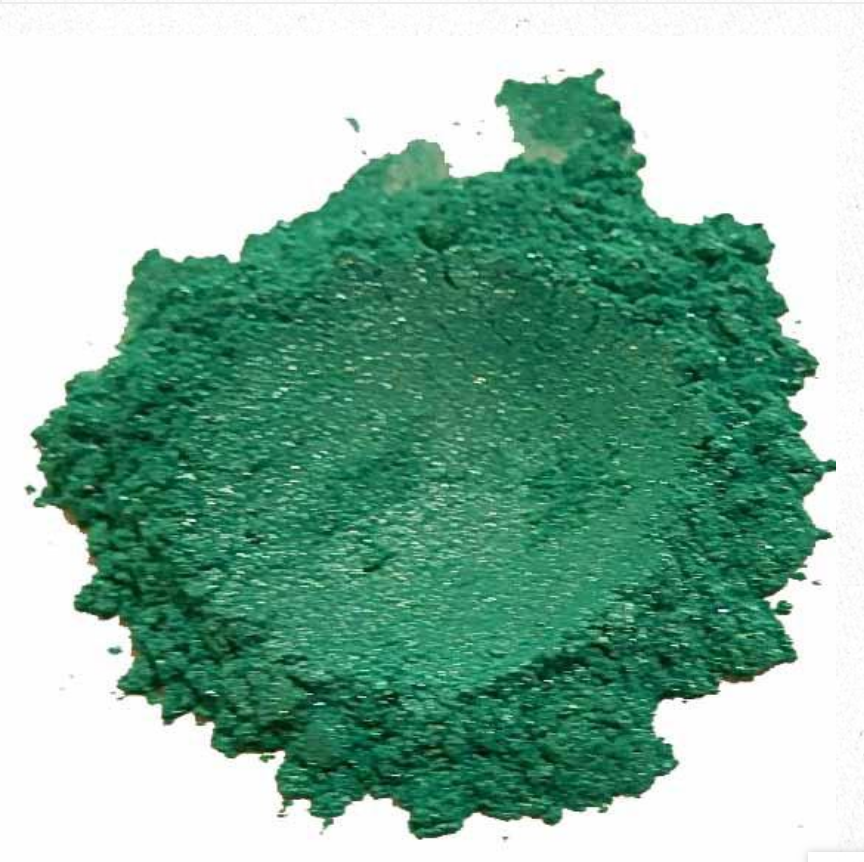 Aqua Dreams Green Mica