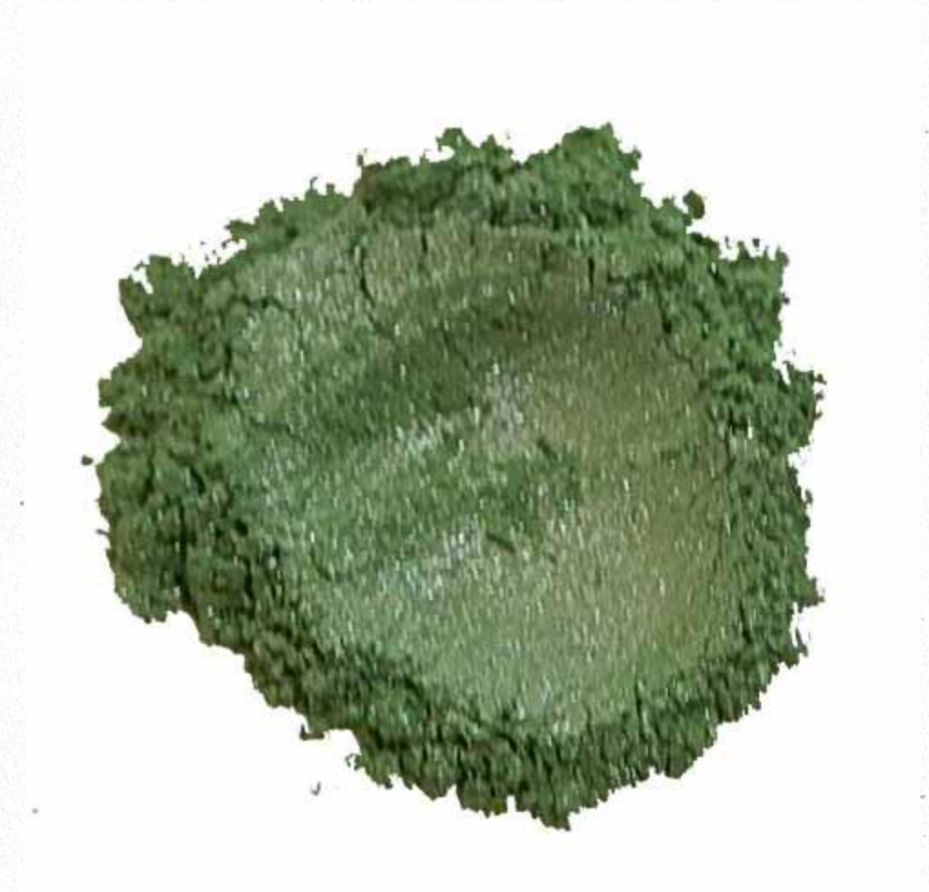 Fresh Pea Green Mica