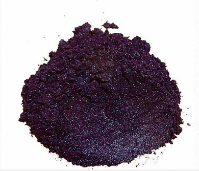 Dark Plum Purple Mica