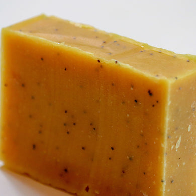Lemon Poppyseed Goat's Milk Soap