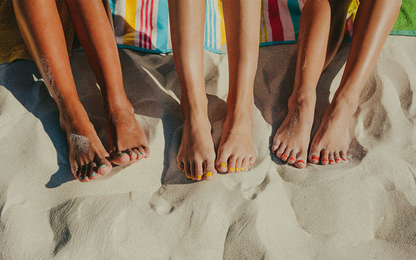 Solutions for common summer foot problems.