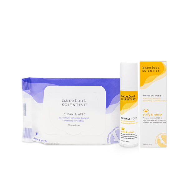 So Fresh So Clean The Instant Foot Refresh Set | Barefoot Scientist®
