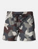 Men's Grey Blue Army Camouflage Pattern Shorts
