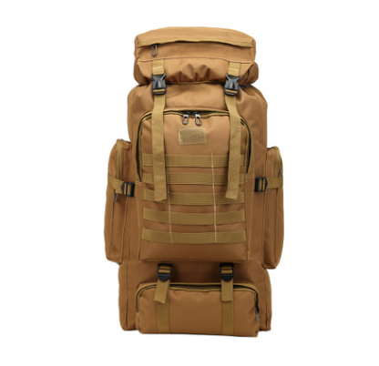 Multifunctional Shoulder Canvas Backpack For Hiking UNISEX
