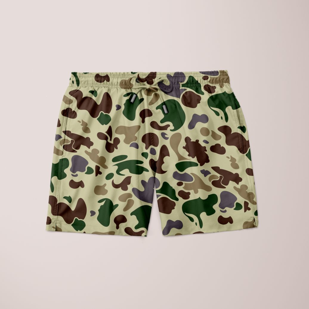 Men's Army Camo Shorts