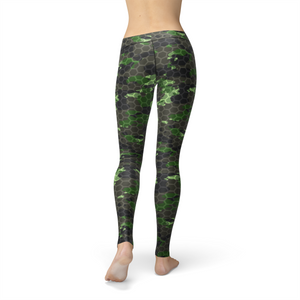 Ladies Avery Army Hex Camo