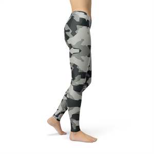 Ladies Avery Digital Grey Camo