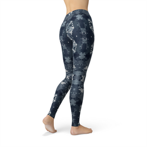 Ladies Jean Digital Blue Camo