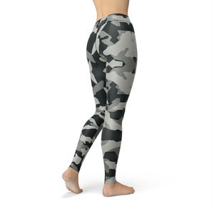 Ladies Jean Digital Grey Camo