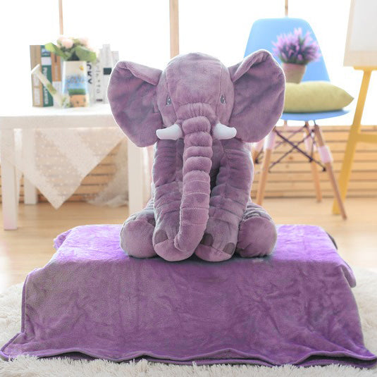 D231 Elephant Pillows & Blanket (2 in 1)