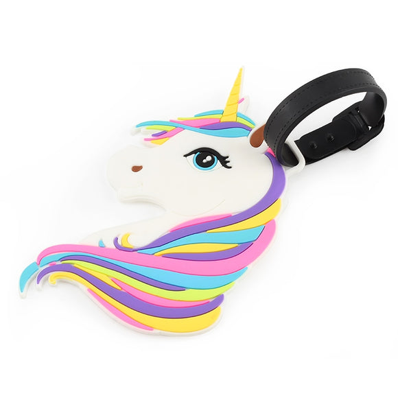 Unicorn Travel Bag Tag