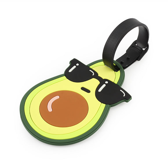 Too Cool Avocado Travel Bag Tag