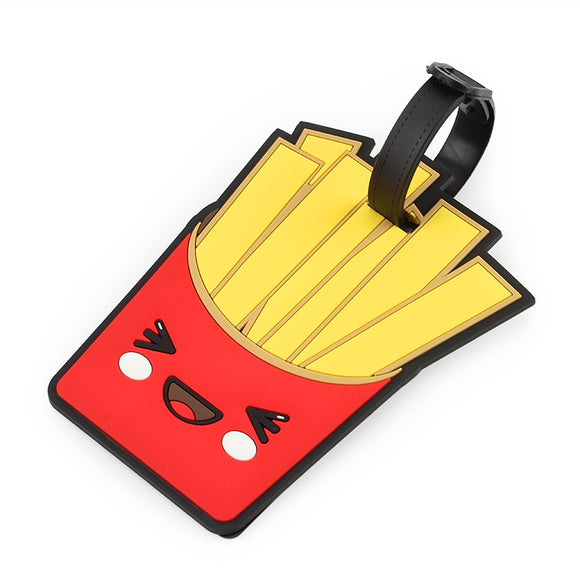 Happy Fries Travel Bag Tag