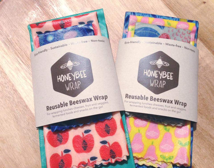 Honeybee Wrap Beeswax Wraps Byron Bay