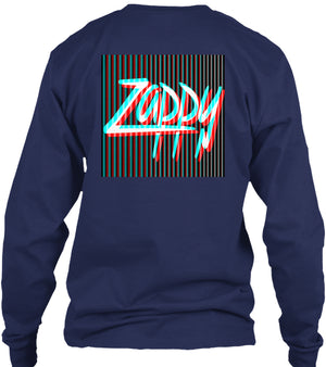 Zappy 3D Long Sleeve Tee