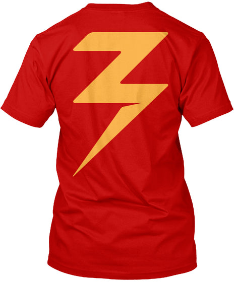 Zappy Bolt Red