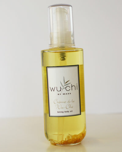 Toning Body Oil - Creme de la WuChi