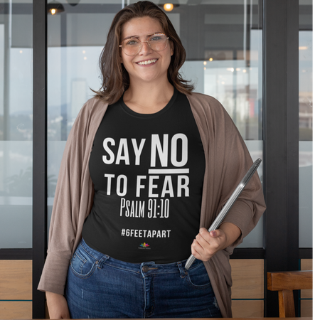 Say No To Fear - Curvy T-Shirt