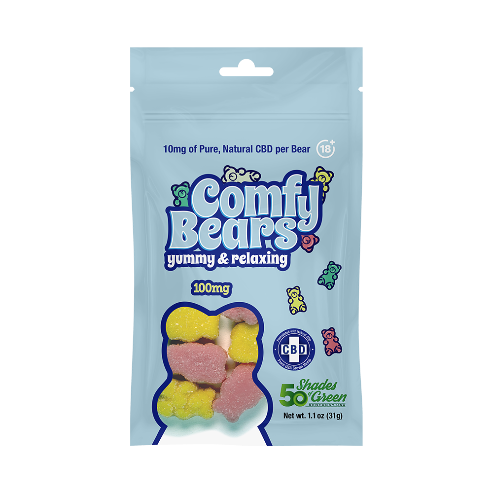 Comfy Bears CBD Gummy Bears