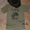 Hold Your Horses T-shirt Military Green - Benita Ceceille