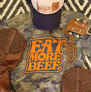 EAT MORE BEEF 421CA or 421CY