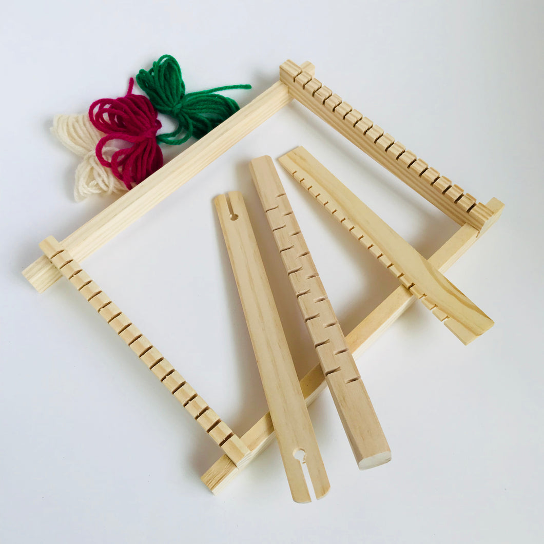 Wooden loom, small