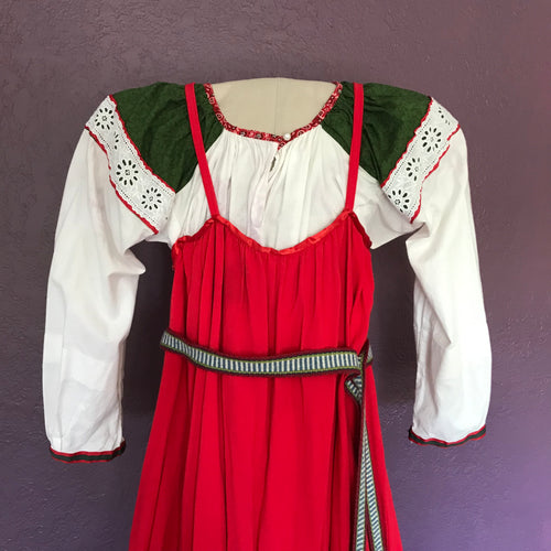 Traditional costume for girl 12-14 years old