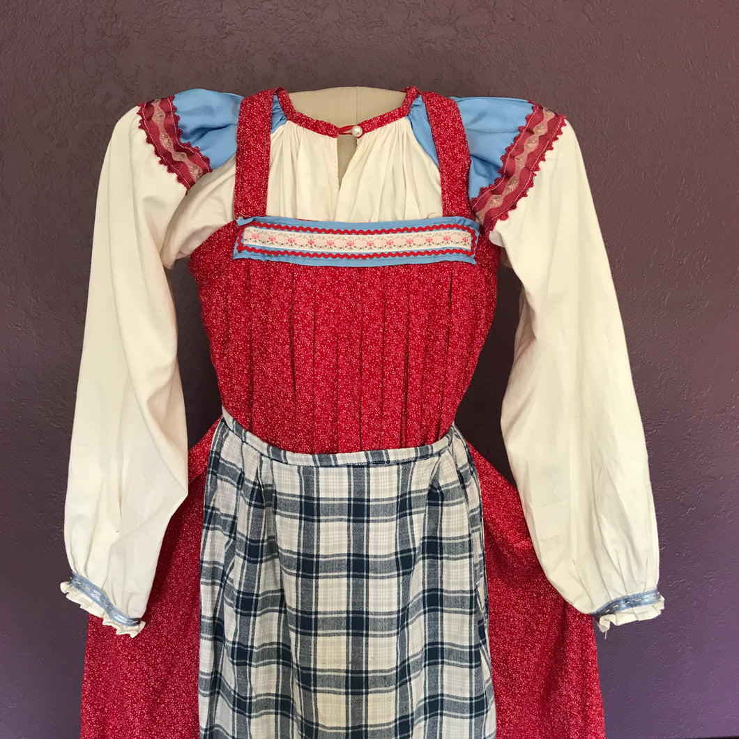 Traditional costume for girl 10-12 years old