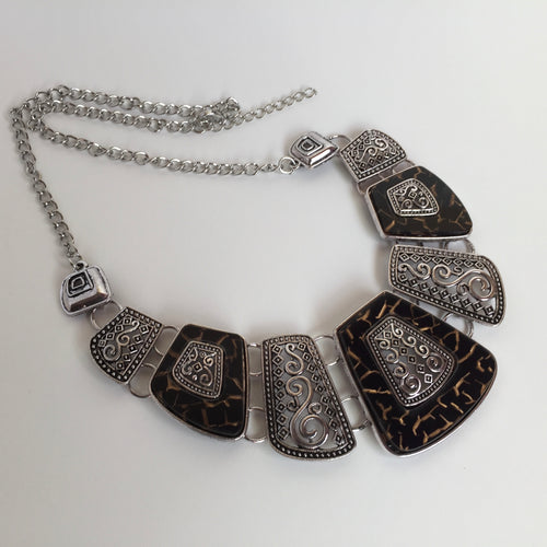Necklace in ethnic style