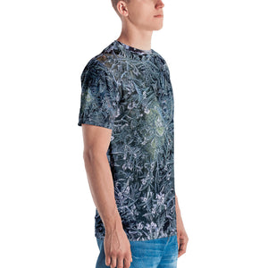 Cool natural frost pattern Men's T-shirt